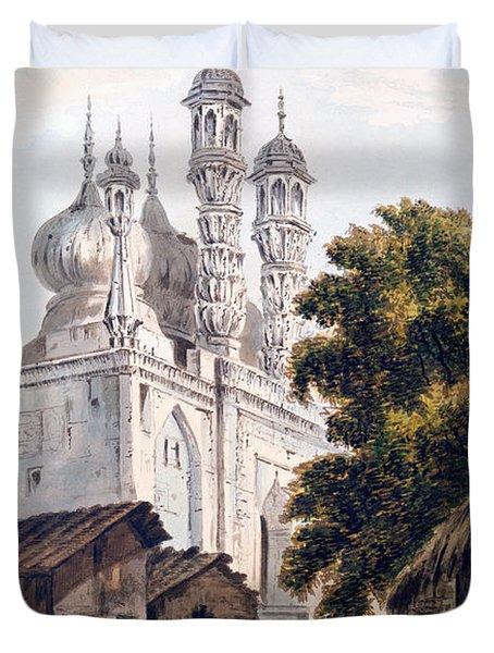 A Mosque At Gazipoor Duvet Cover