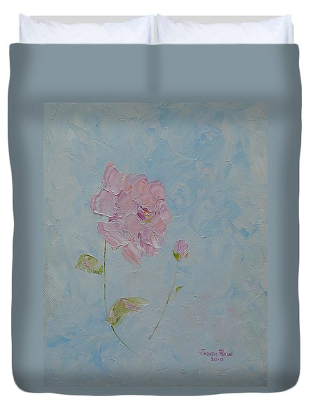 A Mother's Love Duvet Cover by Judith Rhue