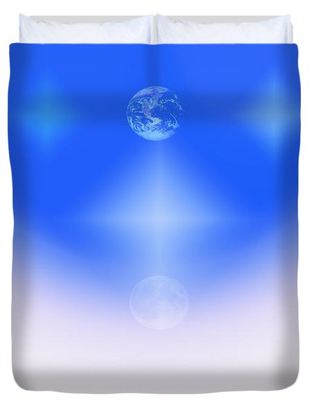 Celestial Harmony Duvet Cover