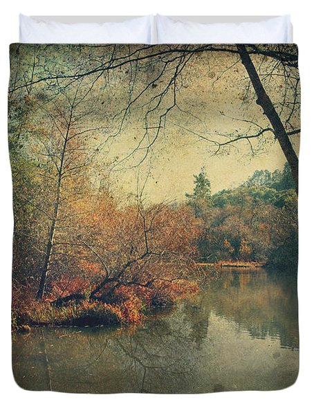 A New Day Another Chance Duvet Cover by Laurie Search