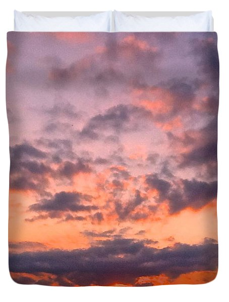 A New Day Begins Duvet Cover