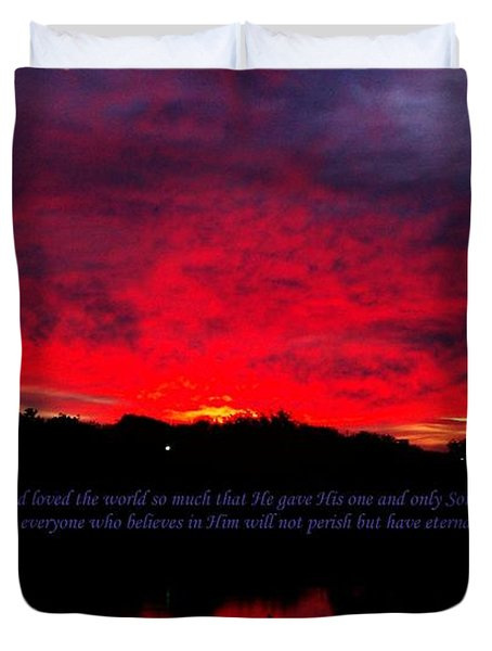 A New Day Duvet Cover by Robert ONeil