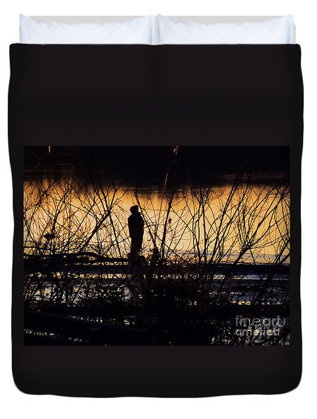 Duvet Cover featuring the photograph A New Day by Robyn King