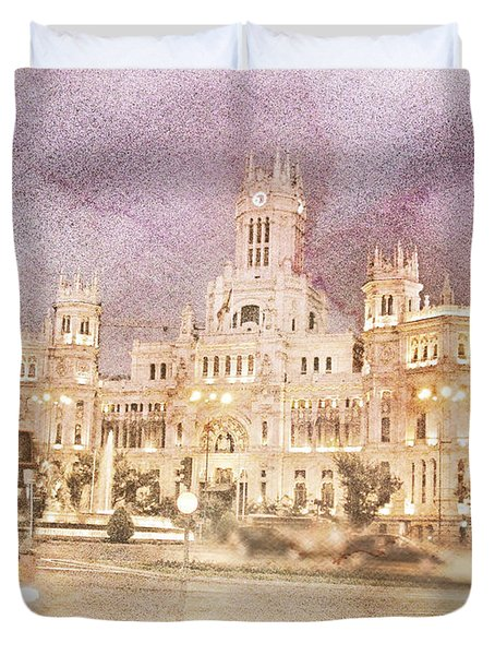 A Night In Madrid  Duvet Cover