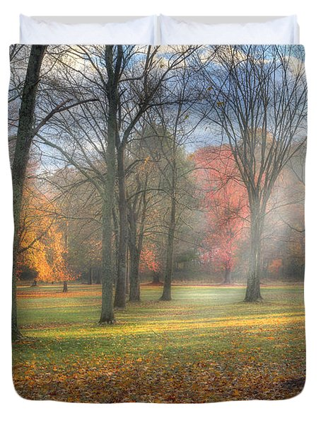 A November Morning Duvet Cover by Bill Wakeley