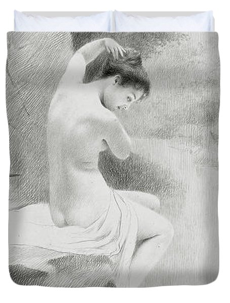 A Nymph Duvet Cover