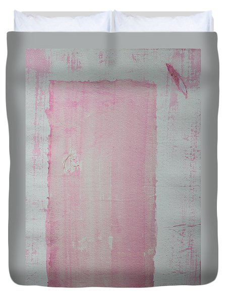 A Paler Shade Of Pink Duvet Cover