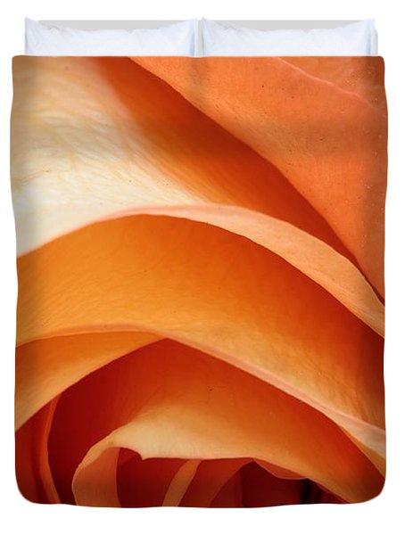 A Pareo Rose Duvet Cover by Joe Kozlowski
