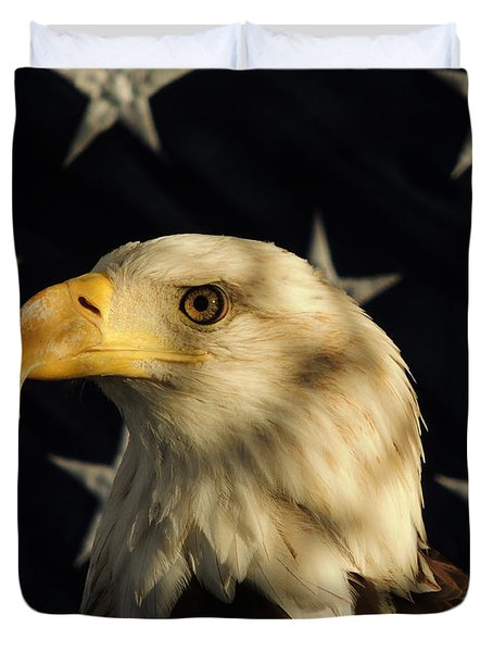 A Patriot Duvet Cover