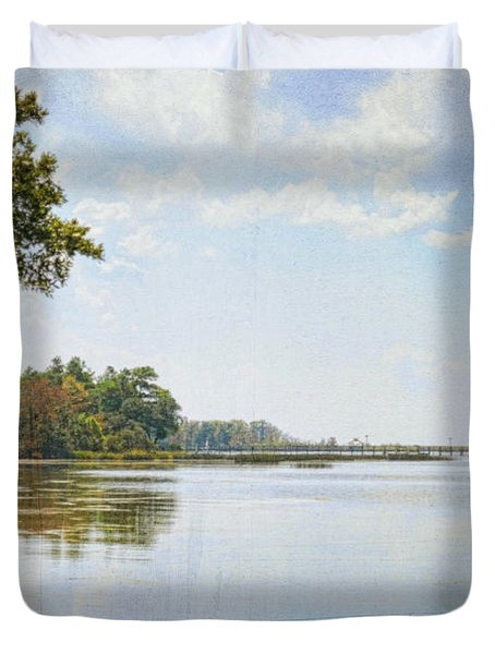 A Perfect Currituck Day Duvet Cover