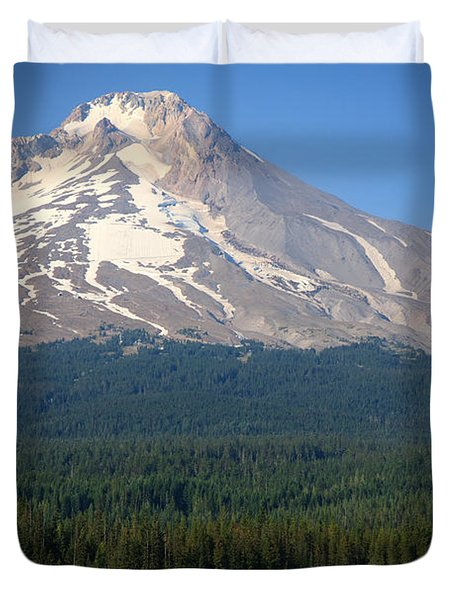 Duvet Cover featuring the photograph A Perfect Day For Fishing by Karen Lee Ensley