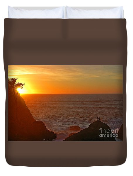 A Perfect Time Duvet Cover by Nick  Boren