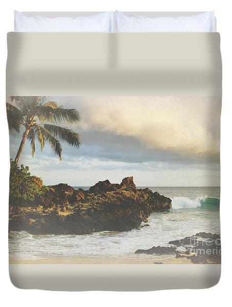 A Perfect Union Of Love Duvet Cover by Sharon Mau