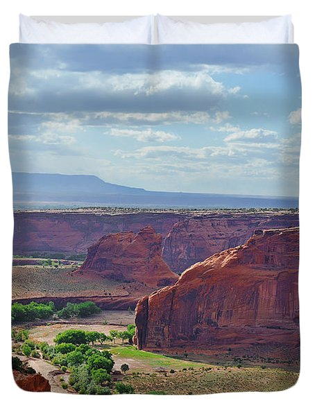 A Place Called Tseyi' Duvet Cover
