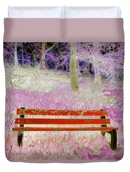 A Place To Rest Duvet Cover by The Creative Minds Art and Photography