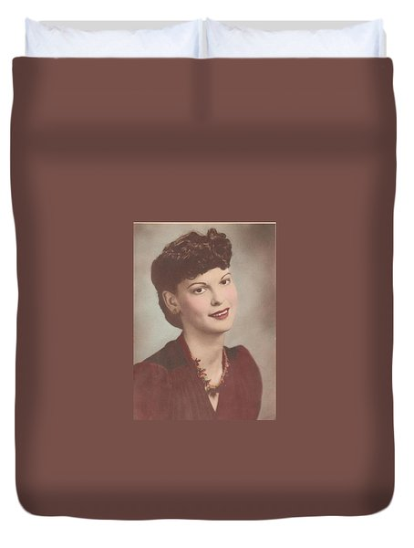 A Real Lady Duvet Cover by Donna Wilson