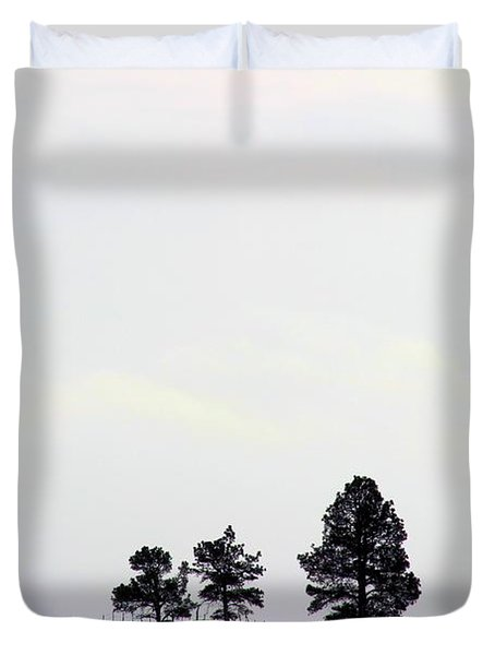 A Road Runs By It Duvet Cover
