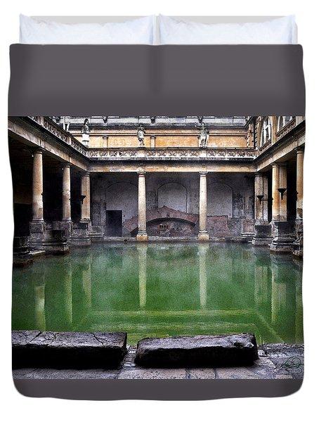 A Roman Perch Duvet Cover