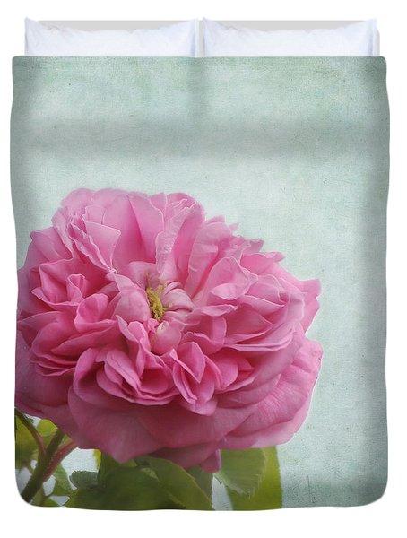 A Rose Duvet Cover by Kim Hojnacki