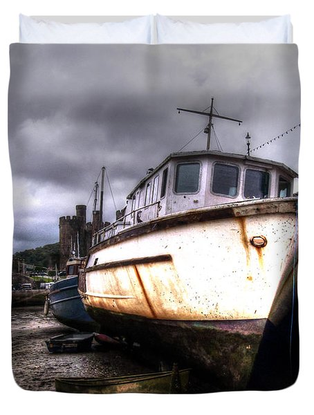 Duvet Cover featuring the photograph A Rough Ride by Doc Braham
