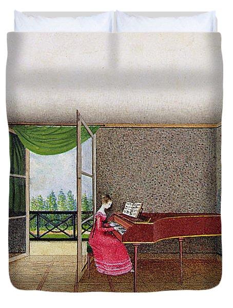 A Russian Interior Duvet Cover by Micheline Blenarska
