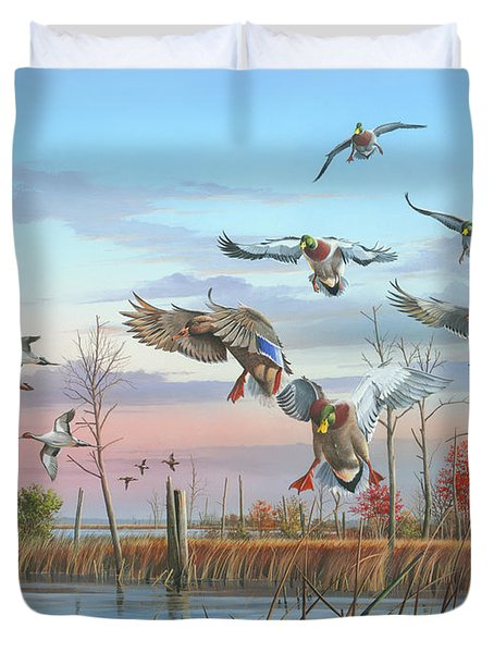 A Safe Return Duvet Cover