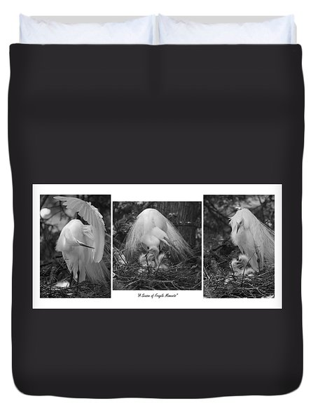 A Season Of Fragile Moments Duvet Cover
