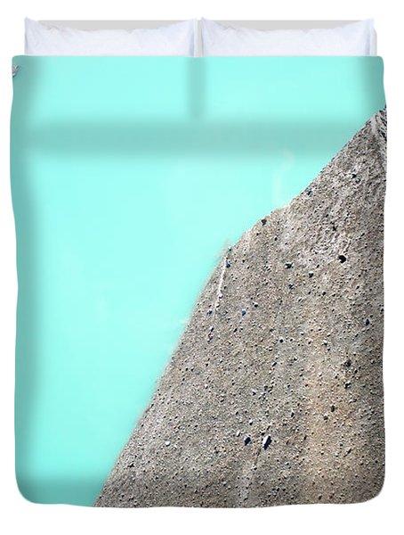 A Silty Glacier-dammed Lake Duvet Cover