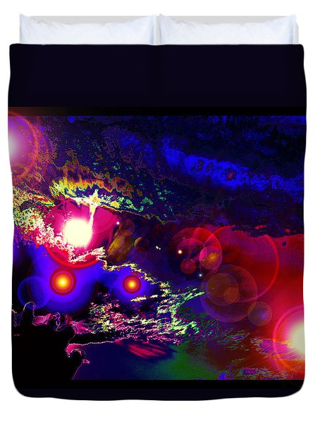 A Small Act Of Evening Magic Duvet Cover