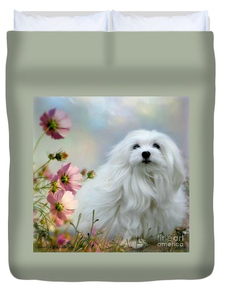 A Soft Summer Breeze Duvet Cover