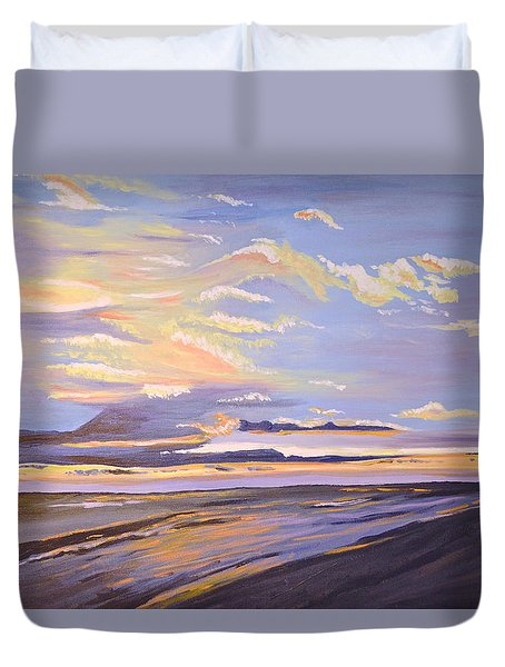 A South Facing Shore Duvet Cover