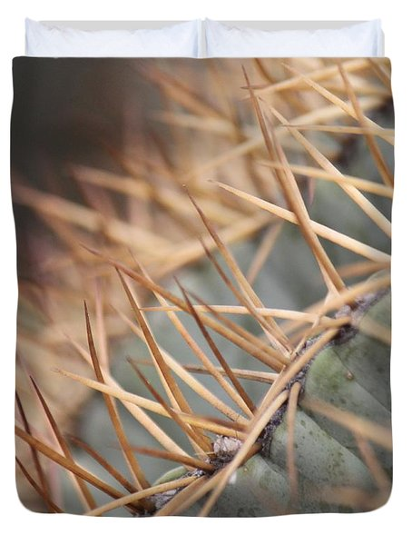 A Spiny Situation Duvet Cover by Amy Gallagher