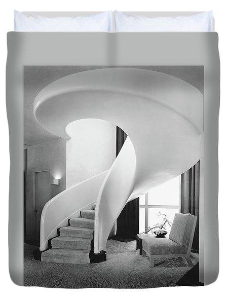 A Spiral Staircase Duvet Cover