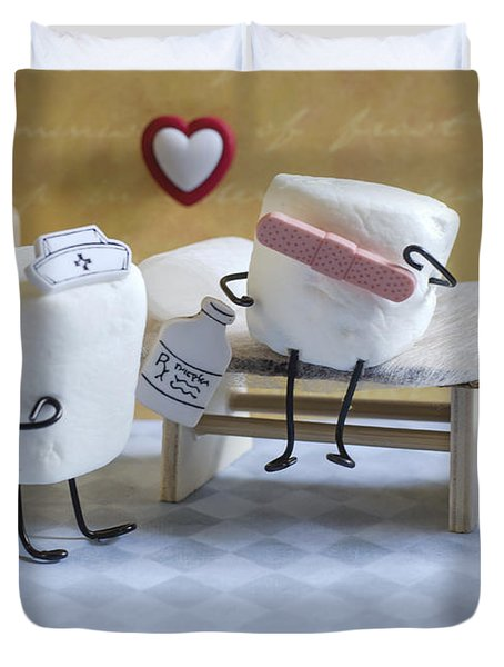 A Spoonful Of Sugar Duvet Cover