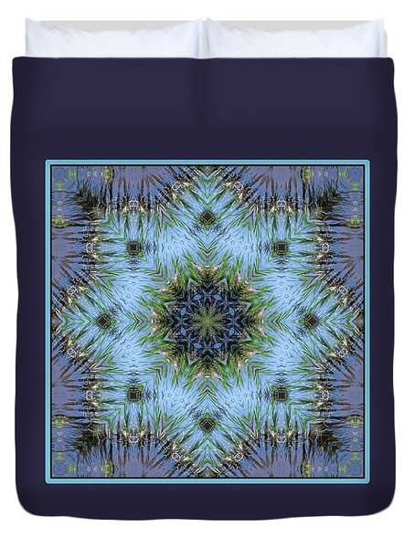Duvet Cover featuring the digital art A Spring Breeze by I'ina Van Lawick