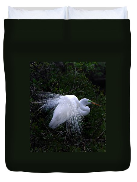 A Stand Out Duvet Cover by Skip Willits