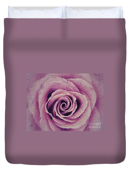 A Sugared Rose Duvet Cover