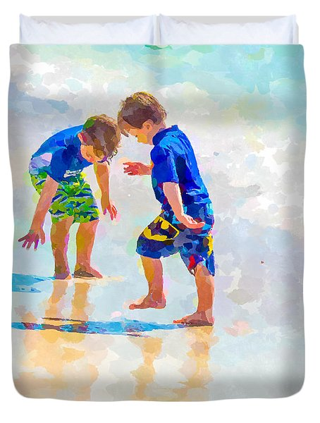 A Summer To Remember Iv Duvet Cover