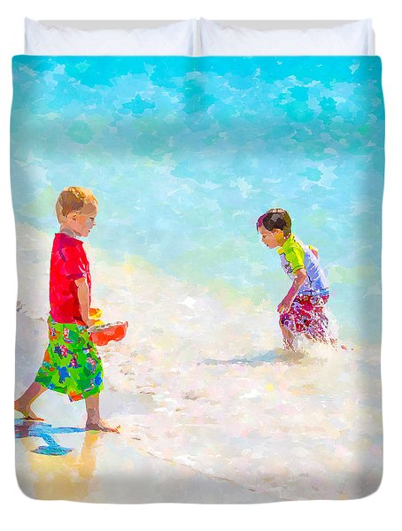 A Summer To Remember V Duvet Cover