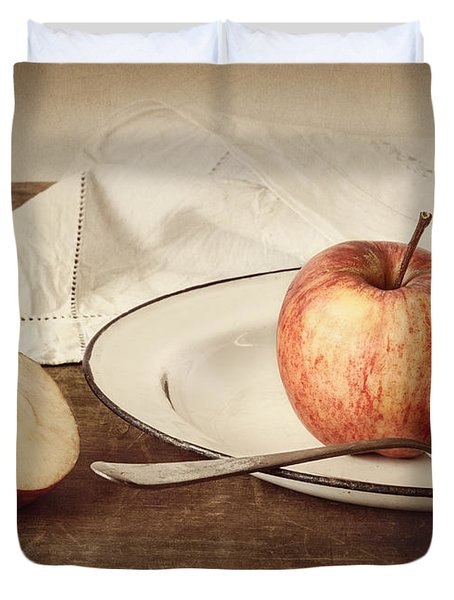 A Taste Of Autumn Duvet Cover by Amy Weiss