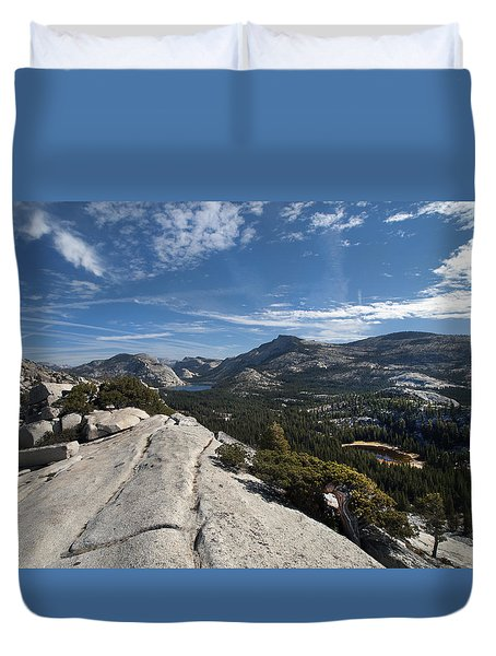 A Tenaya View Duvet Cover