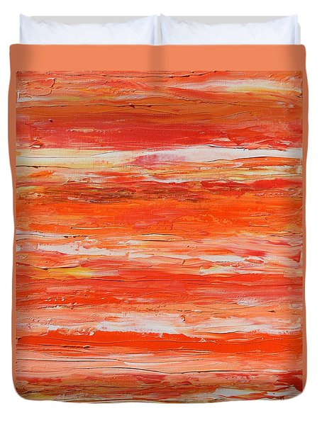 A Thousand Sunsets Duvet Cover