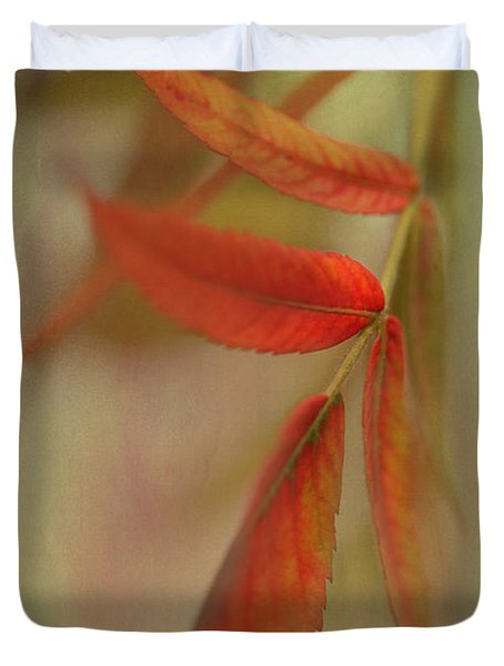 A Touch Of Autumn Duvet Cover