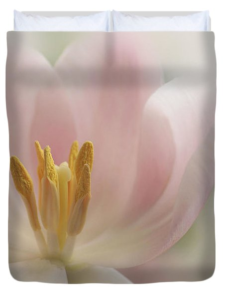 A Touch Of Pink Duvet Cover