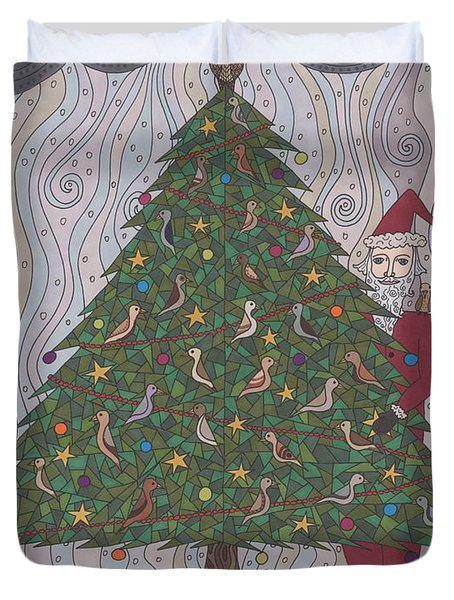 A  Tree For Christmas Duvet Cover