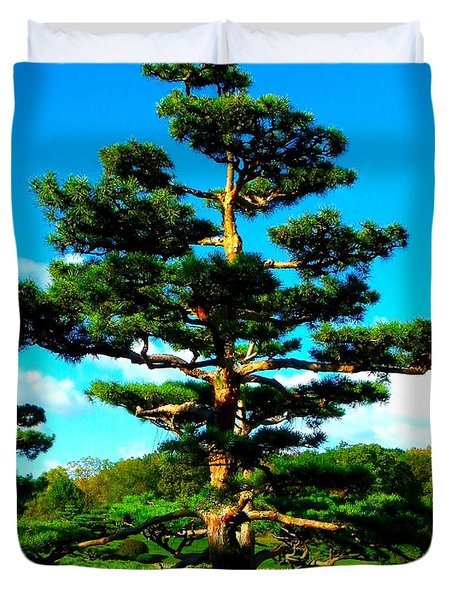 A Tree... Duvet Cover by Tim Fillingim