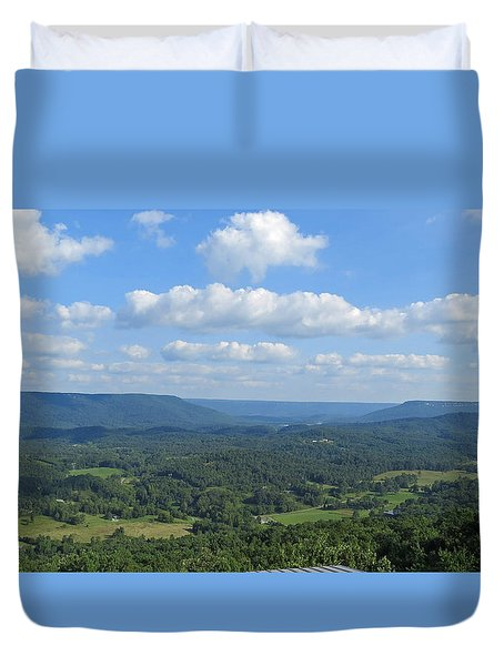 A View For Days Duvet Cover