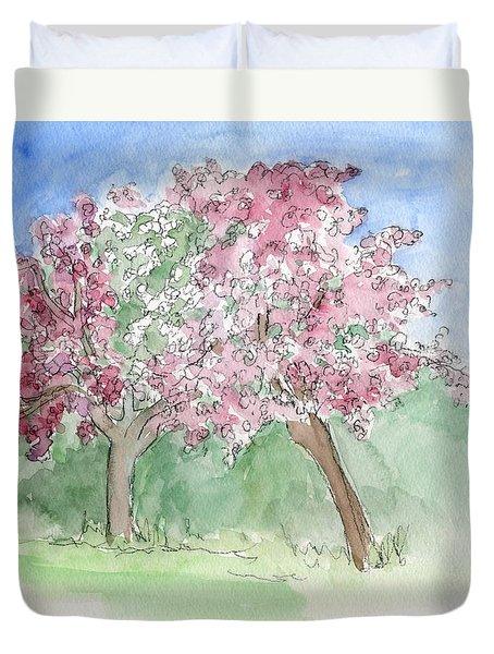 A Vision Of Spring Duvet Cover