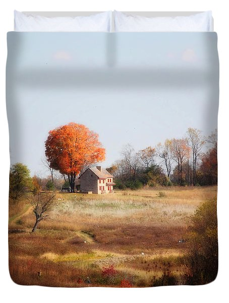 A Walk In The Meadow Duvet Cover