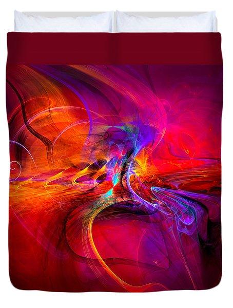 Peace Of Mind - Meditation Art Prints Duvet Cover by Modern Art Prints